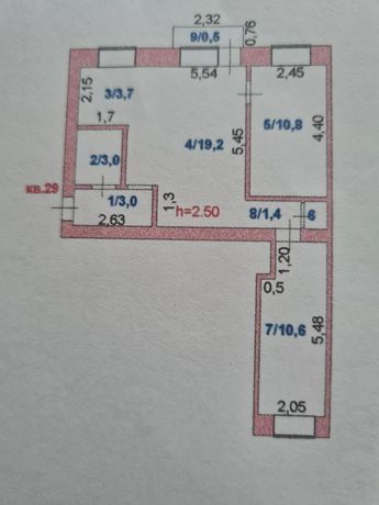 Продам 3-х квартиру в центре