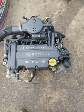 Motor Fara Anexe Opel Corsa D 2006 1.2 Benzina  Cod Z12XE