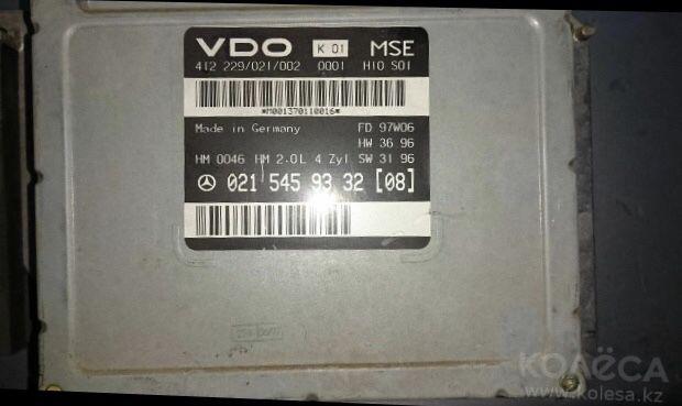 Компютер 210 мерс Лупарь 2.0 литр