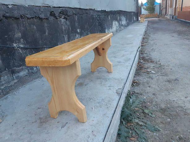 Скамейка лавочка деревянная