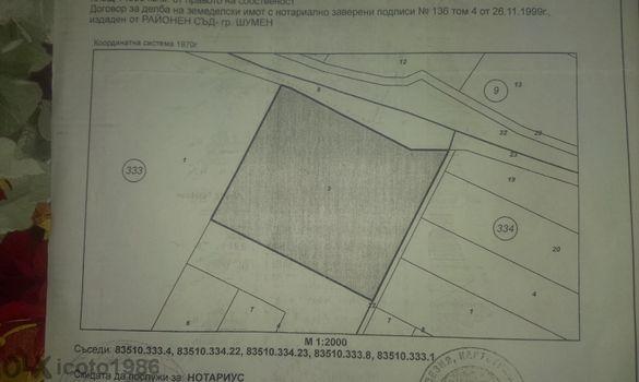 ШОК ЦЕНА !!! Атрактивен парцел ТОП ПАРЦЕЛ гр. Шумен 14000 m2