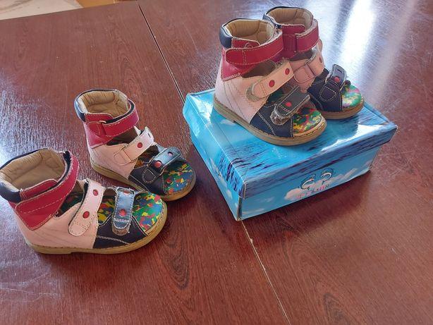 Ортопедическая обувь на 1,5-2-3 годика