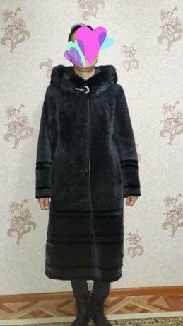 Шуба МУТОН, пальто, дублёнка