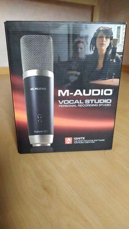 Студийный USB микрофон M-Audio