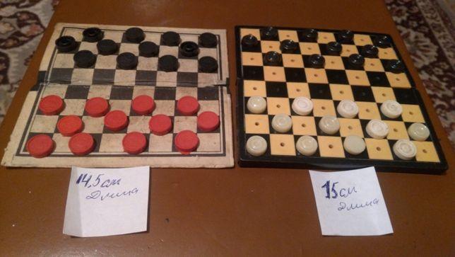 шашки стандартные и дорожные шашки