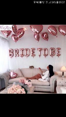 BRIDE TO BE baloane petrecerea burlacitelor