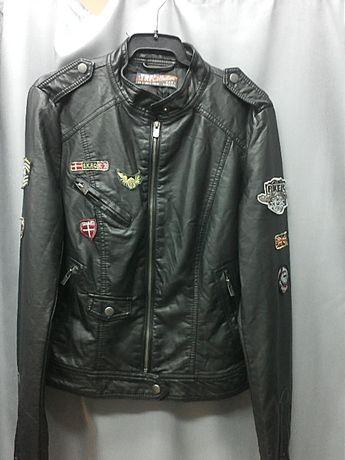 Куртка Zara эко-кожа со скидкой!