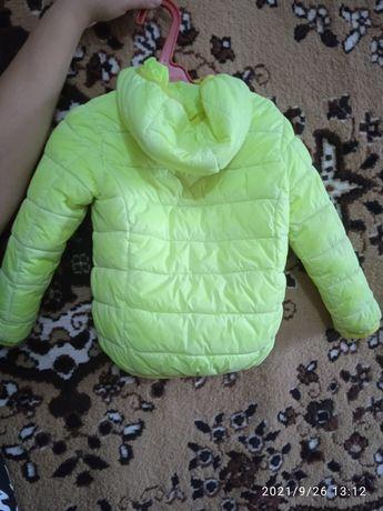 Детские вещи и взрослая куртка весна-осень кожа наст.