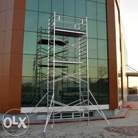 Скеле чисто ново алуминиево Професионално