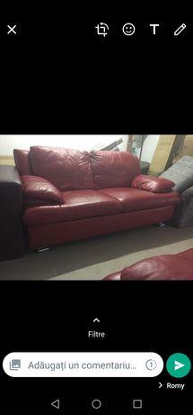 Set canapea și fotoliu.