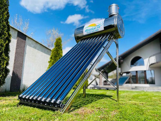 PANOUri Solare nePRESURIZATe 100L 130L Incalzit Apa INOX NOU Rezervor