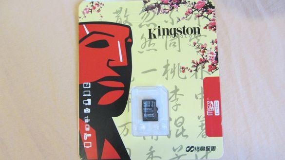 Micro SDHC карта 128 GB Kingston