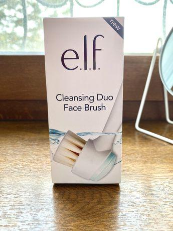 Очищающая двойная кисть для лица e.l.f.