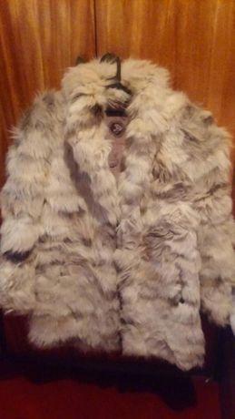Естествен косъм лисица палто и яки