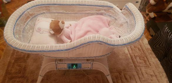 Люлеещо се кошче / легло  за бебе
