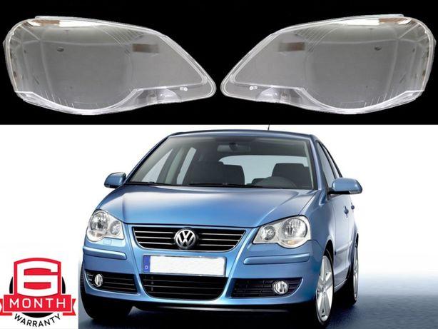 Sticla far VW Polo 9N3 (2005-2009) Capac Geamuri