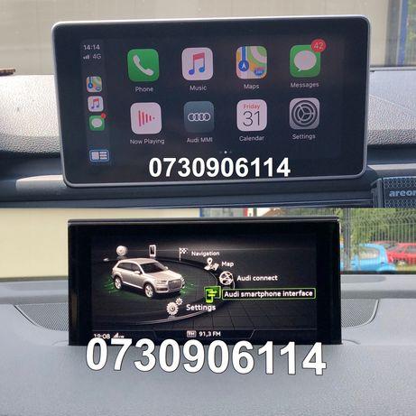 Audi VW Seat Skoda AppleCarplay AndroidAuto Mirrorlink Waze