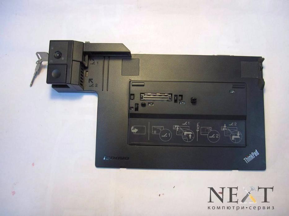 Докинг станция Lenovo 4337 ThinkPad Dock Series 3 +ключове +Гаранция