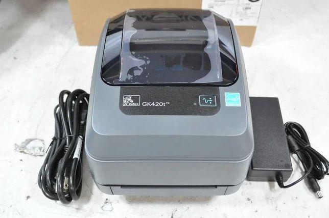 Термотрансферный принтер, Zebra GK420t