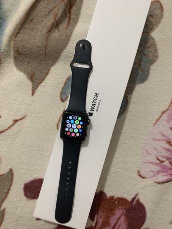 Смарт часы Apple Watch Series 3 GPS 38mm Space Grey Aluminium Case wit