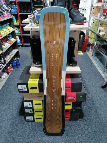 Placă snowboard Test Arbor Westmark Camber 2020 153 cm