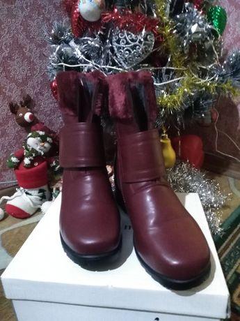 Дамски обувки 38 естествена кожа Финлански