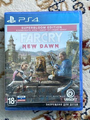 (Новый, запечатанный)Far Cry New Dawn Superbloom Edition Фар край PS 4
