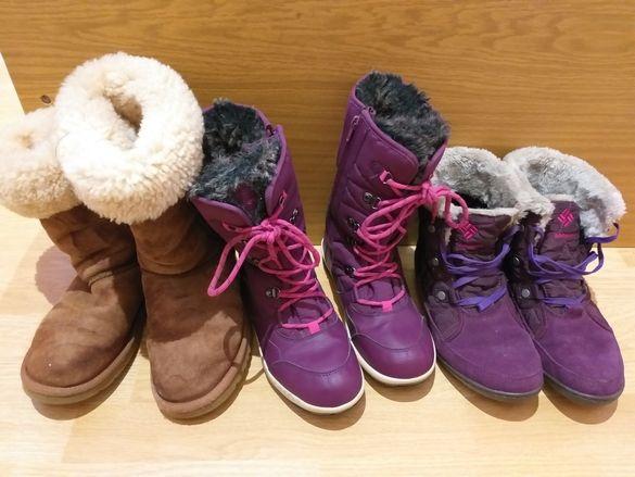 Ботуши, апрески UGG, Everest, Columbia, Rieker, Nike 37, 38 номер