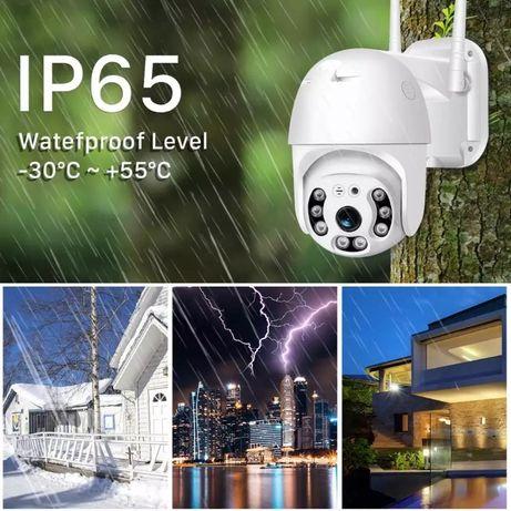 WiFi безжична IP камера 5M PFULL-HD 1080P с нощно виждане проследяване