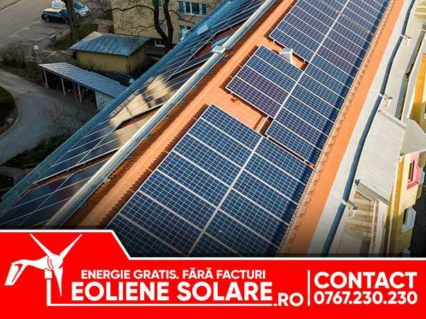 PANOURI SOLARE - panou solar - Instalatie si sistem complet - VASLUI