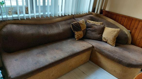 Ъглов диван и матрак