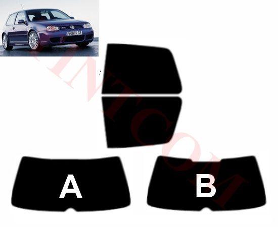 VW Golf IV (3 врати, хечбек, 1998-2003) Фолио за затъмняване на стъкла