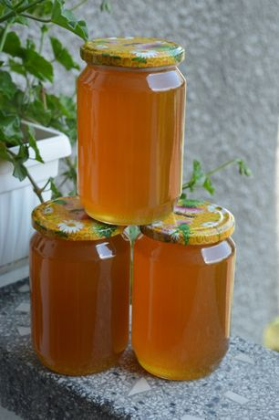 Ново! Пчелен мед  рапица и кориандър