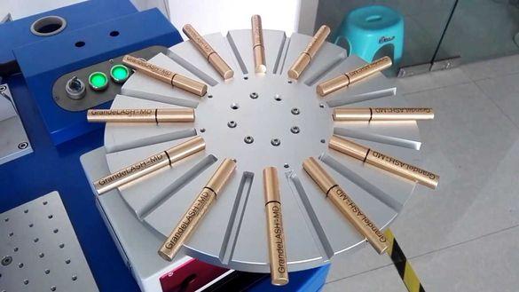 Лазерно надписване на метални,алуминиеви цветни и ПВЦ химикалки