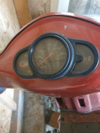 Moped/ scuter,detin acte