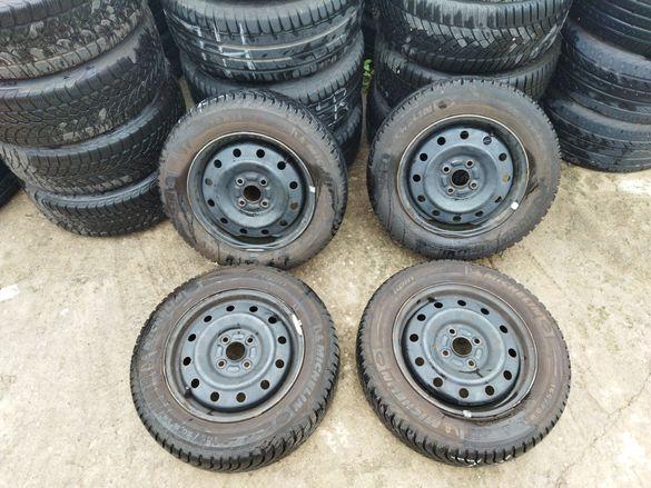 """14"""" Желязни джанти с НОВИ зимни гуми за Сузуки Суифт Suzuki Swift"""