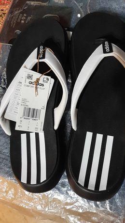 Сланцы Adidas, цвет чёрный