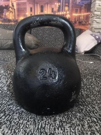 Гиря 24 кг в отличном состоянии!!