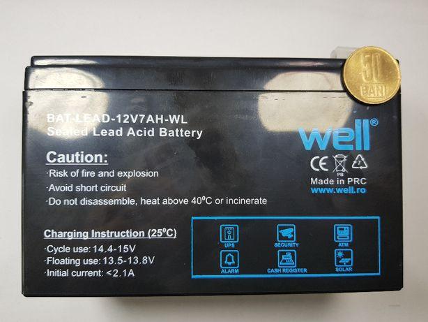 Acumulator plumb acid cu gel baterie 12V 7Ah