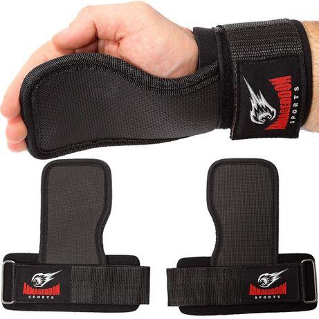 Тренировъчни подложки заместители на Фитнес Ръкавици Grip Pads