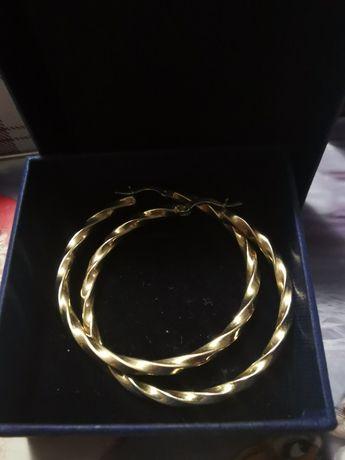 Cercei  din aur 14k