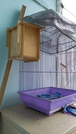 Продам клетку для попугаев !!!