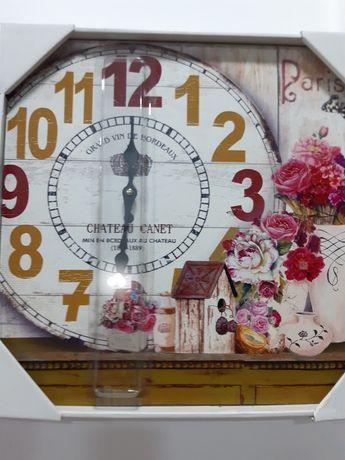 Часовник дърво винтидж