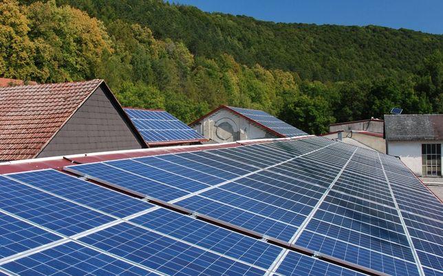 Мини солнечная батарея на 100Вт/час комплект