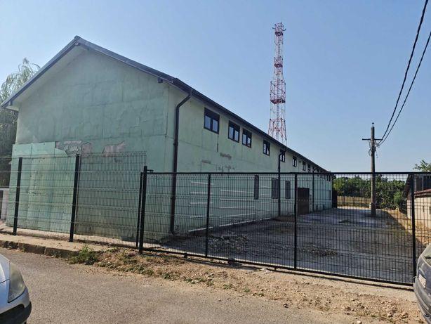 Hala Agigea  p+e ,600 mp construti ,1020 mp teren.