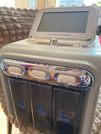 Апарат за водно дермабразио, кислород, RF, ултразвук и шпатула 6 в 1