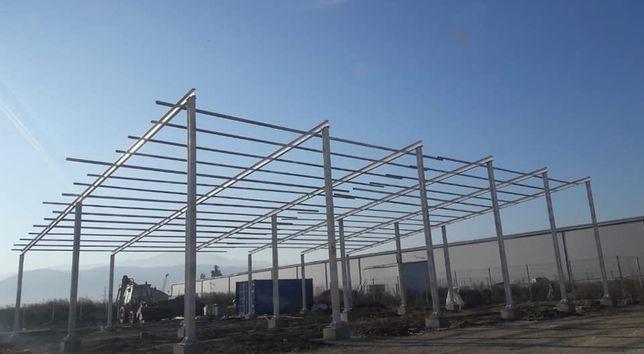 Vând hale metalice și ferme metalice in doua ape