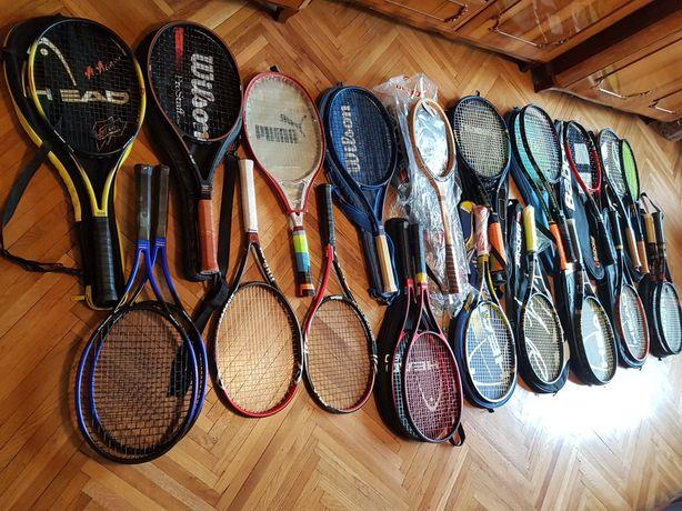 Rachete tenis ,squash ,badminton : Head,Wilson,Babolat,Fischer,Yonnex
