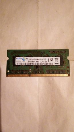 Память ОЗУ для ноутбука Samsung DDR 3 1 GB 1066mhz (8500)