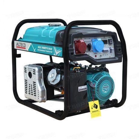 Бензиновый генератор ALTECO AGG 11000 TE DUO!8,5 кВт,220В/380В!1 год!!